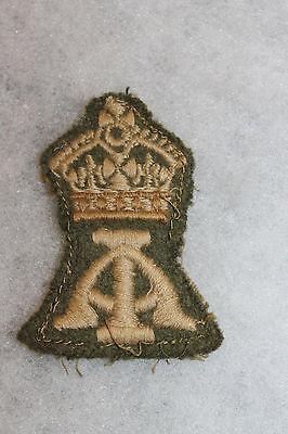 Original WW2 Royal Canadian Army Military School Asst. Instructor Cloth Patch