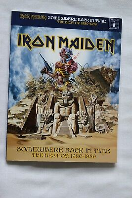 Iron Maiden Somewhere  Back In Time Guitar Tab Song Book The Best Of