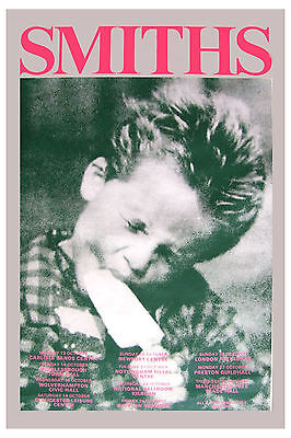 The Smiths: * Kid Eating Ice Cream * UK Tour Poster 1986