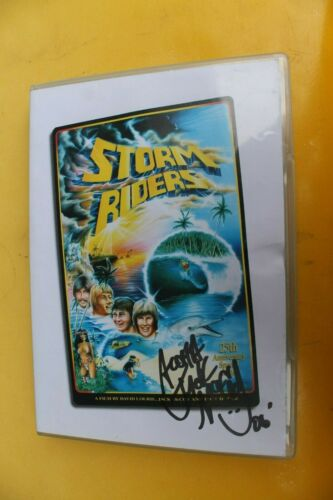 STORM RIDERS Jack McCoy Autographed Mark Richards Gerry Lopez Rare Surfing DVD