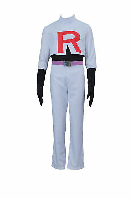 Team Rocket James Kostüm (Pokemon Pocket Monsters Cosplay Costume Team Rocket James Outfit Set V1)