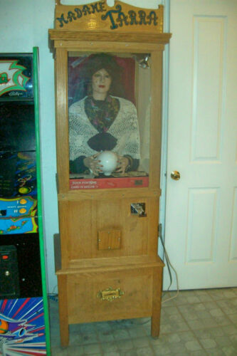 1993 MADAME TARRA Arcade Gypsy Fortune Teller - Works Great!  (Pick-Up in Indy)