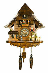 Engstler Quartz Cuckoo Clock - The Beer Drinker AH 492 QMT NEW