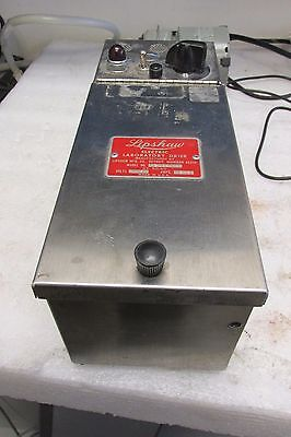 Lipshaw Model 208-n Electric Laboratory Drier