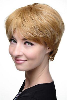 Perücke Rot-Blond-Mix Erdbeerblond & helles Lichtblond Kurzhaar 7482-27H613