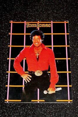 Tom Jones In Concert - Programme - 1983
