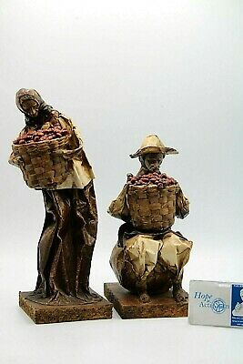 Mexican Folk Art Paper Mache Figurines