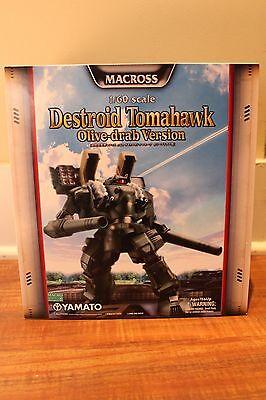 Macross Yamato Destroid Tomahawk  Olive drab Version 1:60 Scale Robotech Arcadia