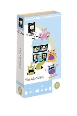 Cricut Halloween Cards (*Brand New* Cricut Mini Monsters Cartridge- Cute Halloween, Cards, 3D)