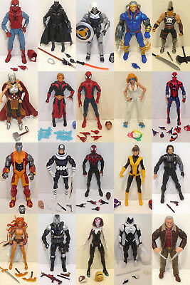 Marvel Legends Action Figures   Your Choice   6 Inch Hasbro X Men Spider Man
