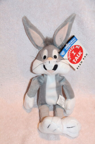 """WB Buggs Bunny  Squeeze me I can talk 10""""   MINT"""