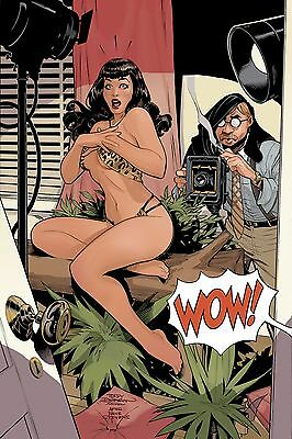 BETTIE PAGE #1, COVER I, DODSON 1:30 VARIANT, New, First print, Dynamite (2017)