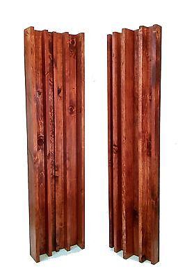 COLUMN SLAT DIFFUSER PAIR - Gunstock (4ft x 1ft)