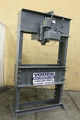 75 Ton Ajax H Frame Electric Hydrualic Press Yoder 69241