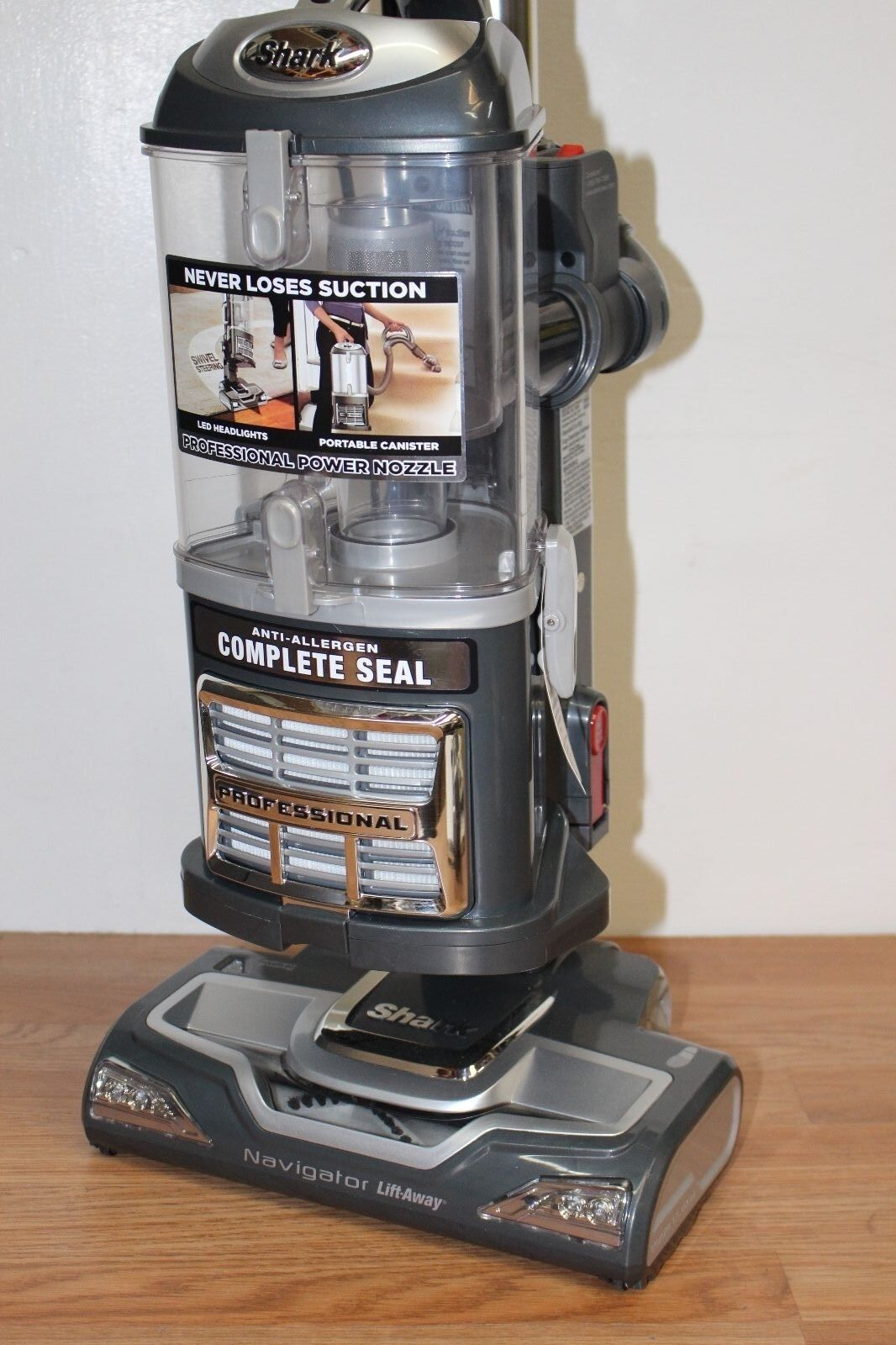 Shark Navigator Uv540 Lift Away Bagless Vacuum Cleaner Ebay