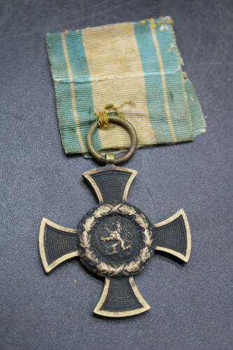 Original 1866 German Bavarian War Merit Cross Medal Merenti (J2U)