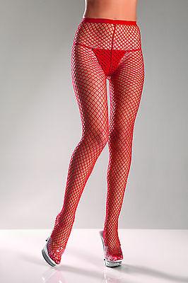 Fish Net Hose (sexy BE WICKED fishnet FISH industrial NET pantyhose HOSIERY spandex)