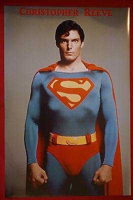 Superman Christopher Reeve American Hero Comic Movie Picture Poster 24X36 Oop