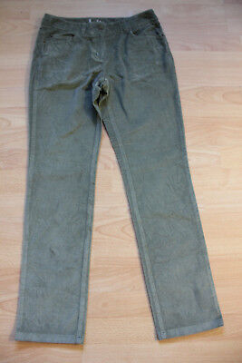 Cord Petite Jeans (BODEN  green  cord straight leg  jeans size 10p petite  WC115. NEW)