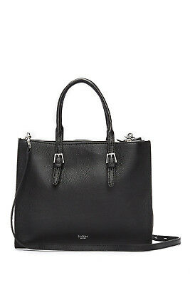 BOTKIER BLACK LEATHER MORGAN TOTE PURSE HANDBAG BRAND NEW
