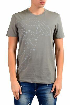Versace Collection Men's Gray Graphic Short Sleeve T-Shirt Size S M L XL 2XL