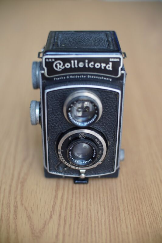 Rolleicord Camera TLR