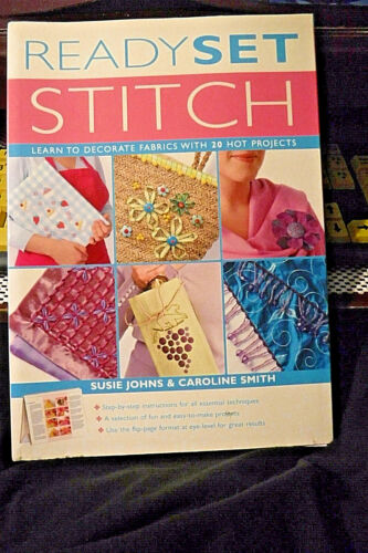 BRAND NEW CRAFTING BOOK! READY, SET STITCH! BEGINNERS GUIDE/20 HOT PROJECTS!