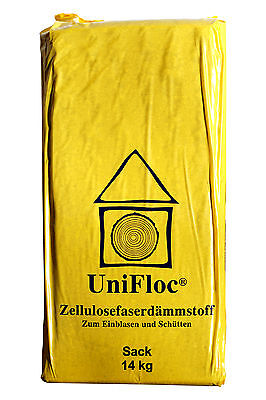 Fußbodenschüttung aus Zellulosefaser 4 Paletten 1176 kg
