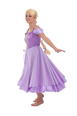 Rapunzel Princess Paradise Costume Dress Womens Adult 4 5 6 7 8 9 10 11 12 13 14 - Rapunzel Costume Women
