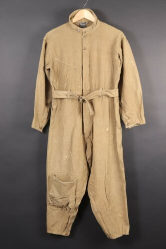 Vintage WWII USAAF A-4 Wool Flight Suit Coveralls USA Mens Size 40