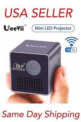 Mini P1+ WIFI Wireless Home Theater 1080P HD LED DLP Projector Portable