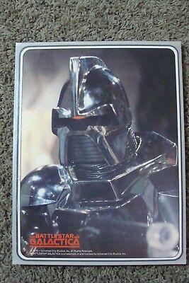 Battlestar Galactica 1978 Portfolio Folder Vintage MEAD Benedict Hatch tv show