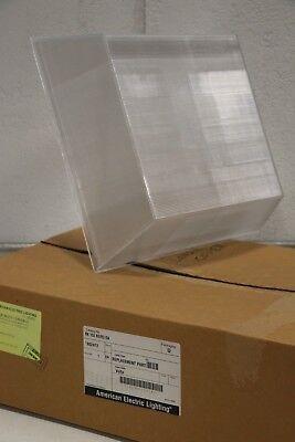 "American Electric Lighting Street HPS Lens Cover Square 15.5"" 50058AC RK153R2/R3"