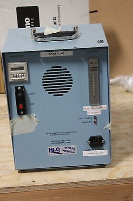 Hi-q Enviromental Battery Operated Air Sampler Sampling Pump