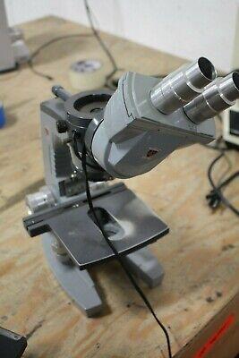 Ao American Optical Microscope With Binocular Head 1 Objective