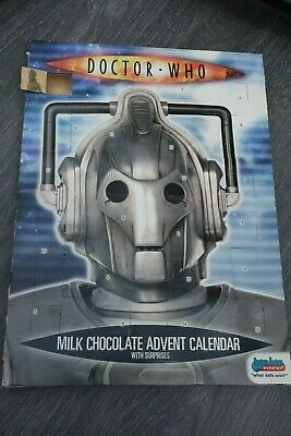 Rare Hard to Find Doctor Who Milk Chocolate Advent Calendar Inc Gifts