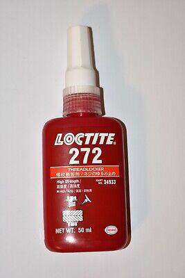 Loctite 272 Threadlocker High Strength 50ml Tube
