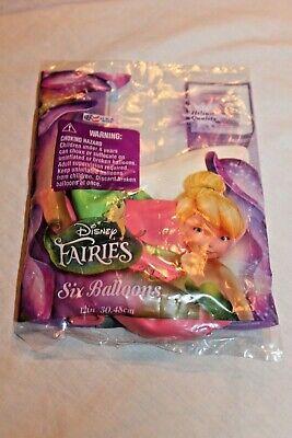 Disney Fairies Party Supplies (NEW IN PACKAGE DISNEY FAIRIES 6- 12
