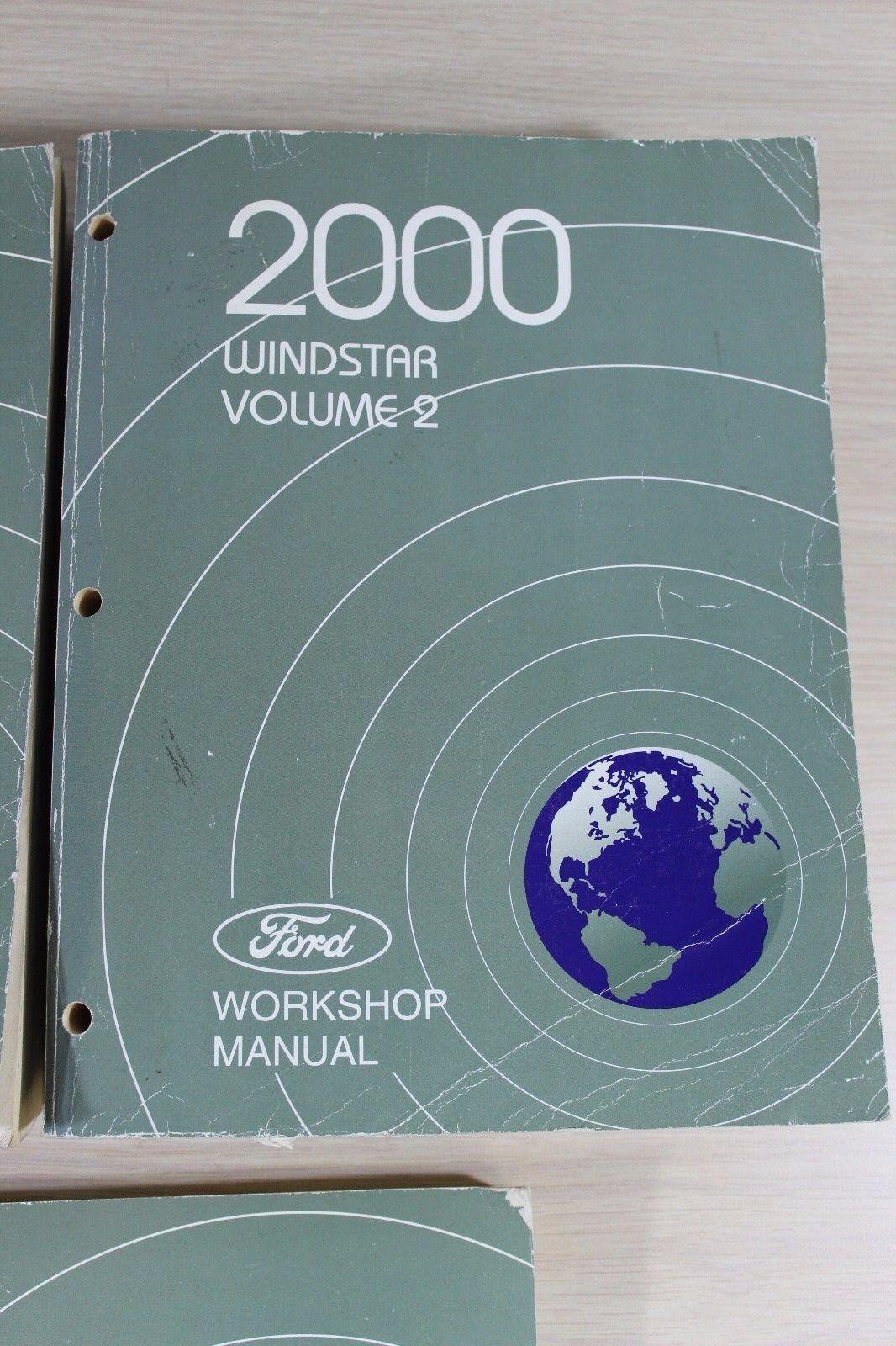 Used 2000 Ford Windstar Workshop Manual 1  U0026 2  U0026 Wiring
