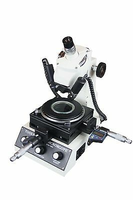 Automobile Toolmakers Precise Inch Mm Measuring Microscope W Digital Display