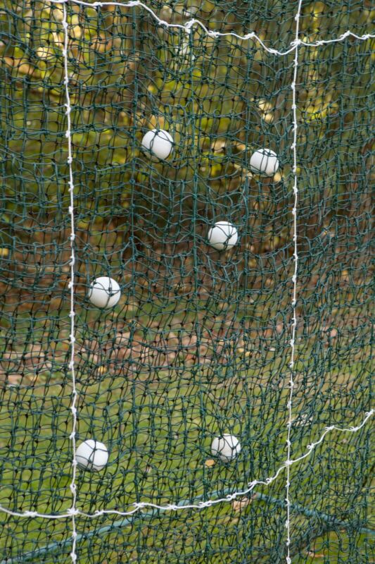 FoldFast WebNet Lacrosse Target practice lax net training game for shooting