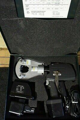 Huksie Brand Dieless Crimper Model Rec 5750 14v Li-ion Battery