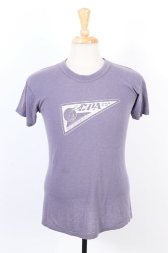 Vintage 70s CATHAY PACIFIC AIRWAYS LTD Airline T-Shirt Mens Size Medium