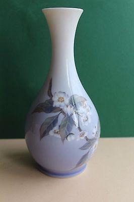 Royal Copenhagen Vase Tischvase Blütenzweig Höhe 22 cm