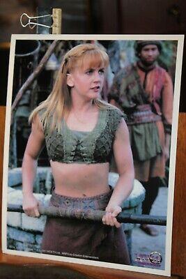 Vintage 1997 XENA Warrior Princess Renee O'Connor 8x10 Glossy Photo Gabrielle