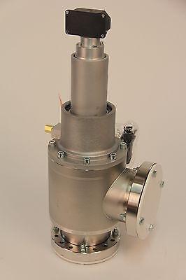 Vat 28040-ge21 6 Conflat Sst Pneumatic Right-angle Vacuum Valve