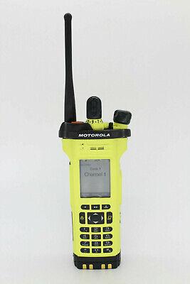 Motorola Apx7000 Xe M3.5 Uhf1 800 P25 Smartzone Tdma Radio W Impres Battery Fpp
