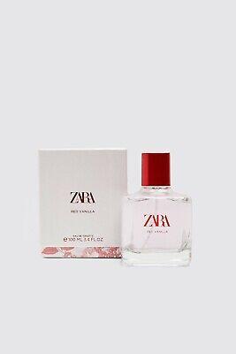 ZARA RED VANILLA EDT 100 ML EAU DE TOILETTE FRAGRANCE PERFUME LIMITED EDITION