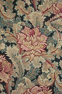 Antique-French-Art-Nouveau-c-1890-fabirc-8-pieces-heavy-weight-LOVELY