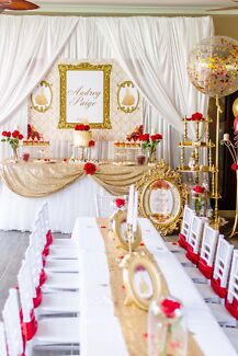 Beauty and the Beast Birthday Party Package - Brisbane Hire